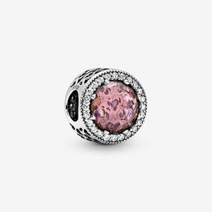 Pandora Sparkling Blush Pink Charm
